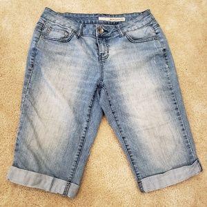 DKNY Jean Bermuda Shorts